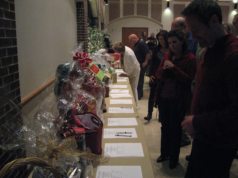 2013 Christmas Party Silent Auction